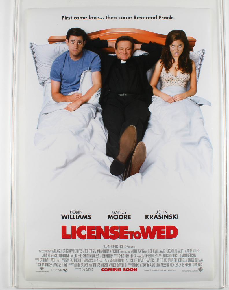 """""""License to Wed"""" 27x40 Original Movie Poster at PristineAuction.com"""