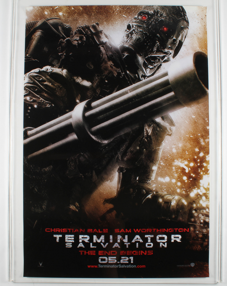 """Terminator Salvation"" 27x40 Original Movie Poster at PristineAuction.com"