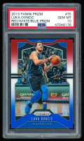 Luka Doncic 2019-20 Panini Prizm Prizms Red White & Blue #75 (PSA 10) at PristineAuction.com