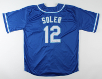 "Jorge Soler Signed Jersey Inscribed ""KC HR King"" (JSA COA) at PristineAuction.com"