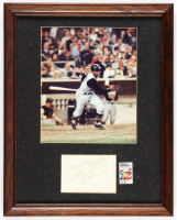 "Roberto Clemente Signed Pirates 12.5x15.5 Custom Framed Cut Display Inscribed ""Best Wishes"" (JSA ALOA) at PristineAuction.com"