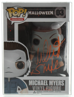 "Nick Castle Signed ""Halloween"" Michael Myers Funko Pop! Vinyl Figure #03 Inscribed ""Shape"" (Radtke COA) at PristineAuction.com"