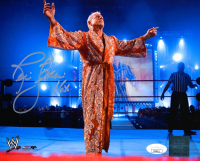 "Ric Flair Signed WWE 8x10 Photo Inscribed ""16x"" (JSA COA) at PristineAuction.com"