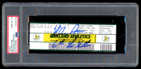 "Nolan Ryan Signed Vintage Authentic 1990 Ticket Inscribed ""6th No-Hitter"" (PSA Encapsulated) at PristineAuction.com"