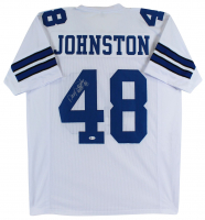 "Daryl ""Moose"" Johnston Signed Jersey (Beckett COA) at PristineAuction.com"