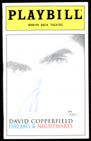 "David Copperfield Signed ""David Copperfield Dreams & Nightmares"" Playbill (JSA COA) at PristineAuction.com"