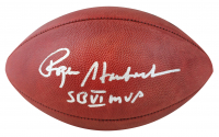 "Roger Staubach Signed Official NFL Super Bowl VI Game Ball Inscribed ""SB VI MVP"" (Beckett COA) at PristineAuction.com"
