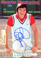 "Jimmy Connors & Chris Evert Signed ""Sports Illustrated"" Cover Page (JSA COA) at PristineAuction.com"