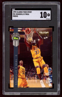 Shaquille O'Neal 1992 Classic Four Sport Promos #PR1 RC (SGC 10) at PristineAuction.com