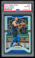 Luka Doncic 2019-20 Panini Prizm #75 (PSA 10) at PristineAuction.com