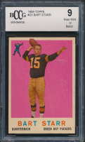 Bart Starr 1959 Topps #23 (BCCG 9) at PristineAuction.com