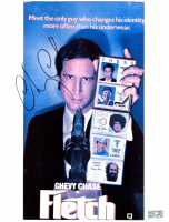 "Chevy Chase Signed ""Fletch"" 8x10 Photo (Palm Beach COA) at PristineAuction.com"