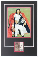 "Burt Reynolds Signed ""The Longest Yard"" 12x18 Custom Matted Cut Display with Photo (Palm Beach COA) at PristineAuction.com"