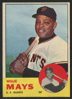 Willie Mays 1963 Topps #300 at PristineAuction.com