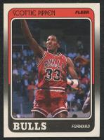 Scottie Pippen 1988-89 Fleer #20 RC at PristineAuction.com