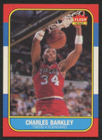 Charles Barkley 1986-87 Fleer #7 RC at PristineAuction.com