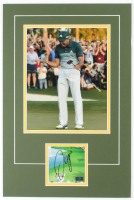 Sergio Garcia Signed 12x18 Custom Matted Cut Display with Photo (Palm Beach COA) at PristineAuction.com