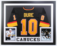 Pavel Bure Signed 35x43 Custom Framed Jersey (Beckett COA) at PristineAuction.com