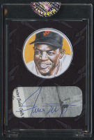 Willie Mays 2020 The Bar POTP Superfoil Cut Autograph - #1/1 at PristineAuction.com