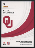 Kyler Murray 2019 Immaculate Collection Collegiate Helmets Team Logos #16 RC - #10/11 at PristineAuction.com
