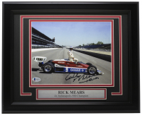 Rick Mears Signed 11x14 Custom Framed Photo (Beckett COA) at PristineAuction.com