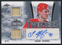 Sergei Fedorov 2019-20 Leaf Lumber Kings Hockey Twig Sigs Autograph Relic #TS-SF1 - #4/5 at PristineAuction.com