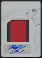 Michael Chavis 2019 Immaculate Collection Jumbo Jersey Autographs Printing Plates #JJ-MI - #1/1 at PristineAuction.com