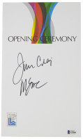 Jim Craig & Mike Eruzione Signed 1980 Olympic Games Official Opening Ceremony Program (Beckett COA) at PristineAuction.com