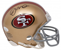 Joe Montana Signed 49ers Mini-Helmet (JSA COA) at PristineAuction.com