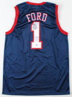 Phil Ford Signed Jersey (PSA COA) at PristineAuction.com