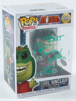 "Stuart Pankin Signed ""Dinosaurs"" #959 Earl Sinclair Funko Pop! Vinyl Figure Inscribed ""Best"" & ""Earl!"" (PSA Hologram) at PristineAuction.com"