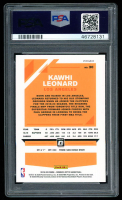 Kawhi Leonard 2019-20 Donruss Optic Blue Velocity #30 (PSA 9) at PristineAuction.com