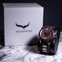 AQUASWISS Trax 3 Hand Men's Watch at PristineAuction.com