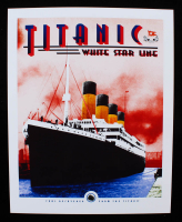 Authentic Coal From Titanic Wreckage on 8x10 Photo (The Zone COA) at PristineAuction.com