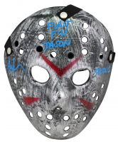 "Ari Lehman Signed ""Friday the 13th"" Mask Inscribed ""First F'N Jason!"" & ""Jason 1"" (Beckett COA) at PristineAuction.com"
