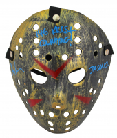 "Ari Lehman Signed ""Friday the 13th"" Mask Inscribed ""146 Kills & Counting"" & ""Jason 1"" (Beckett COA) at PristineAuction.com"