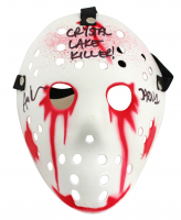 "Ari Lehman Signed ""Friday the 13th"" Mask Inscribed ""Crystal Laker Killer"" & ""Jason 1"" (Beckett COA) at PristineAuction.com"