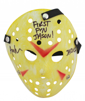 "Ari Lehman Signed ""Friday the 13th"" Mask Inscribed ""First F'N Jason"" & ""Jason 1"" (Beckett COA) at PristineAuction.com"