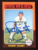 Robin Yount Signed 1975 Topps #223 RC (JSA COA) at PristineAuction.com