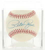Pete Rose Signed ONL Baseball with Display Case (JSA COA) at PristineAuction.com