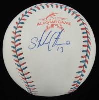 Starlin Castro Signed 2017 All-Star Game Logo Baseball (Beckett COA) at PristineAuction.com