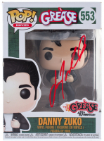 "John Travolta Signed ""Grease"" #553 Danny Zuko Funko Pop! Vinyl Figure (Beckett COA) at PristineAuction.com"