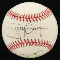 Tony Gwynn & Barry Bonds Signed ONL Baseball (JSA COA) at PristineAuction.com