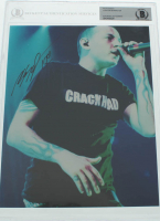 Chester Bennington Signed 8x10 Photo (BGS Encapsulated) at PristineAuction.com