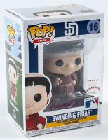 Jack McKeon Signed Padres #09 Swinging Friar Funko Pop! Vinyl Figure (PSA Hologram) at PristineAuction.com