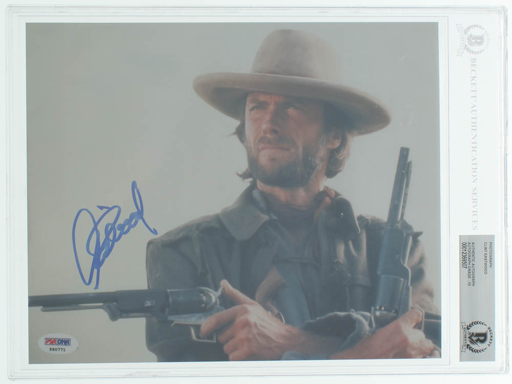 """Clint Eastwood Signed """"The Outlaw Josey Wales"""" 8x10 Photo (BGS 10 & PSA Hologram) at PristineAuction.com"""
