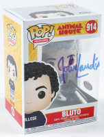 "John Landis Signed ""Animal House"" #914 Bluto Funko Pop! Vinyl Figure (PSA Hologram) at PristineAuction.com"