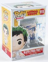 "John Landis Signed ""Animal House"" #915 Bluto (Toga Party) Funko Pop! Vinyl Figure Inscribed ""Toga! Toga!"" (PSA Hologram) at PristineAuction.com"