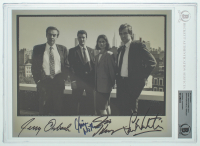 """Law & Order"" 8x10 Photo Cast-Signed by (4) with Jerry Orbach, Chris Noth, Sam Waterston & Jill Hennessy (BGS Encapsulated) at PristineAuction.com"