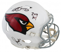 "Larry Fitzgerald & Kyler Murray Signed Cardinals Full-Size Authentic On-Field Speed Helmet Inscribed ""2019 ROY"" (Beckett COA) at PristineAuction.com"